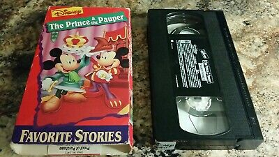 The Prince And The Pauper Disney Vhs