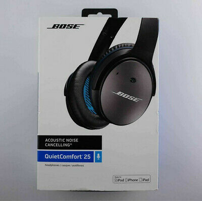 BOSE Quiet Comfort QC25, Wired Noise Cancelling Headphones - iPhone NEXT DAY DEL