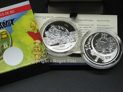 10 Euro 2013 Asterix Plata Pp Proof Top Precio