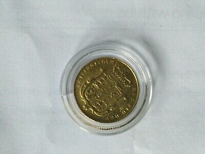 1826 GEORGE lV HALF SOVEREIGN - AS PICTURED - FREE P&P!!