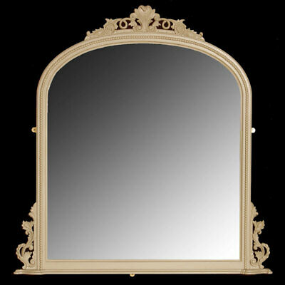 Suppliers Of Bespoke Furniture - Carved Mantel Mirror (Large) - Raw Or Painted