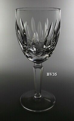 "Waterford Crystal Kildare Claret Wine Goblet  6 1/2""  Goblets - Perfect!"