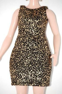 Dress for Curvy Barbie Fashionista Doll Clothes TKCT gold/black made to move