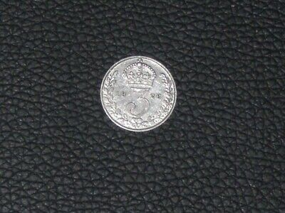 1926 silver threepence, George V, good collectable grade, scarce!