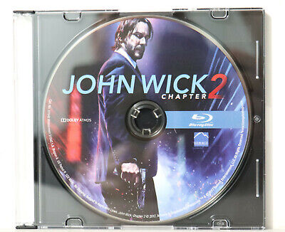 John Wick Chapter 2 (Blu-ray Disc, 2017) - NEW BLU-RAY ONLY