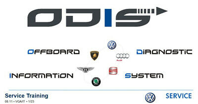 ✅2019 Odis-S 5.1.6 Service Diagnostic Vag Software Lifetime Obd Vas5054 Vas6154