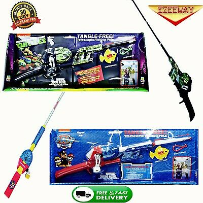 Transformers Kids Fishing Pole Reel Optimus Prime Grimlock Tangle
