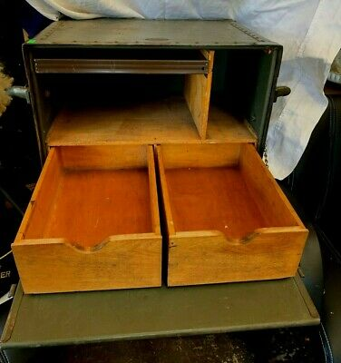 Original Wwii Us Military Field Desk - Us Army Portable Field Operations 1944