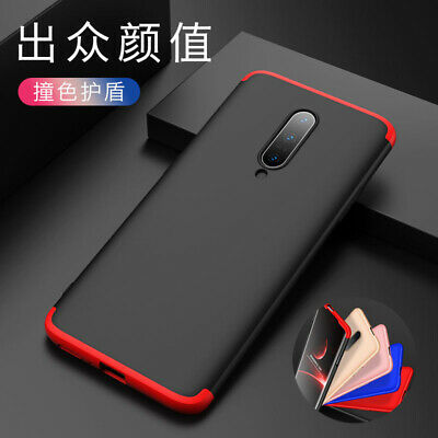 For OnePlus 7 Pro 360° Protection Armor Frosted Hard Hybrid 3in1 Back Case Cover
