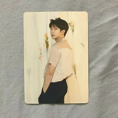 BTS Love Yourself World Tour Photocard Official - RM 4/8