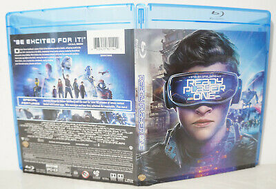 Ready Player One (Blu-ray Disc, 2018) - NEW BLU-RAY & CASE ONLY