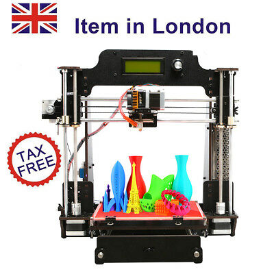 GEEETECH Upgraded Quality High Precision Reprap i3 DIY 3d Printer from UK