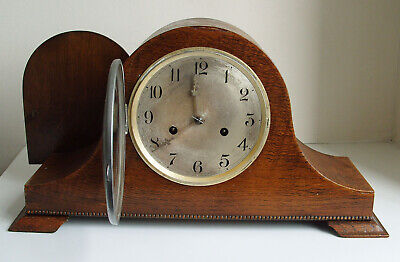 Vintage English Striking Mantel Clock for spares repair