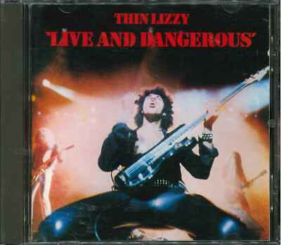 "THIN LIZZY ""Live And Dangerous"" CD-Album"