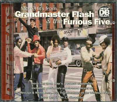 """GRANDMASTER FLASH  & The Furious Five """"More Hits From … Vol. 2"""" Best Of CD"""