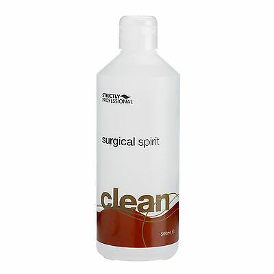 SURGICAL SPIRIT Beauty Sterilize Cleanse Solution 500ml Strictly Professional