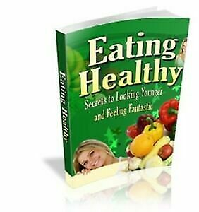 Eating Healthy PDF Ebook+Free shipping+MRR