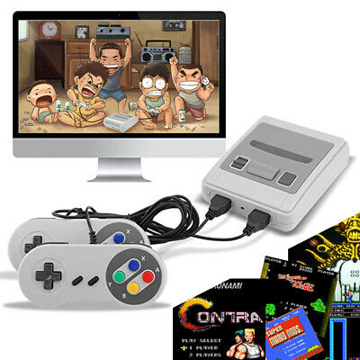 Retro Game Console 621 TV Mini Game Nintendo Style NES Games with 2 Controllers