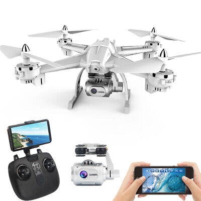 Droneeye S5 2.4G RC Quadcopter Drone with 1080P HD Wifi FPV Camera Headless Good