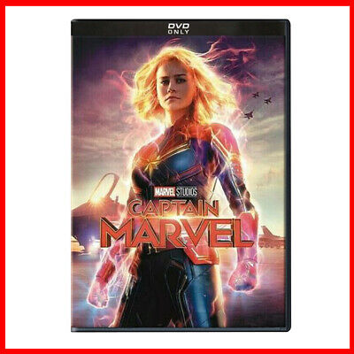 Captain Marvel DVD - Brie Larson 2019 Avengers MCU Studios *** READY TO POST***