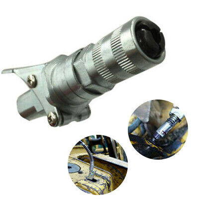 """1x Grease Gun Coupler Quick Release Heavy-Duty Fitting 1/8"""" NPT Thread Adapter~"""