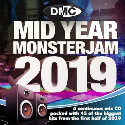 DMC Mid Year Monsterjam 2019 Continuous Megamix DJ CD Hits Of 2019 So Far OneMix
