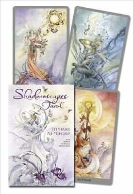 Shadowscapes Tarot Deck by Stephanie Pui-Mun Law 9780738727325 | Brand New