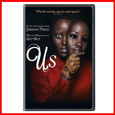 US DVD 2019 - Get Out Jordan Peele New Film - New & Sealed - Fast UK Postage
