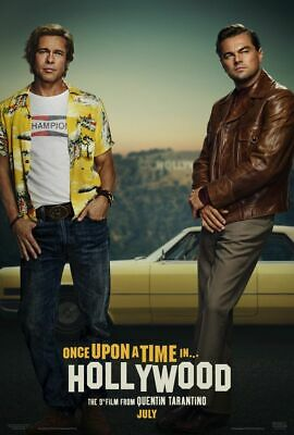 Once Upon A Time In Hollywood - original DS movie poster 27x40 D/S - A
