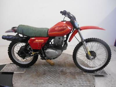 1980 Honda XL500S Unregistered US Import Barn Find Classic Restoration Project
