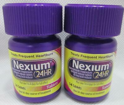 Nexium 24HR Tablets Acid Reducer for Frequent Heartburn 14 x 2 = 28 EXP3/2021