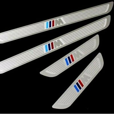 Stainless Steel BMW M Sport M Performance Door Sills Scuff Guards Protector