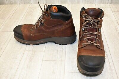 5dacfd89e4a TIMBERLAND PRO HELIX HD Composite Toe WP Work Boots, Men's Size 12W, Brown