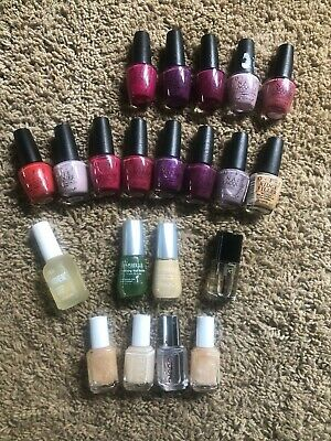 MIXED LOT OF New Nail Polish from OPI, Essie, Barielle & Orly - 21 ...