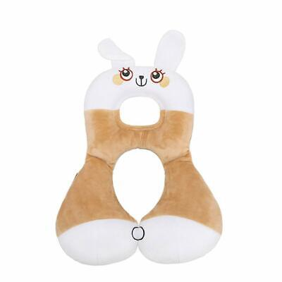 Car Seat Pillow Headrest Toddlers Soft Head Neck Support for Travel Animal Shape