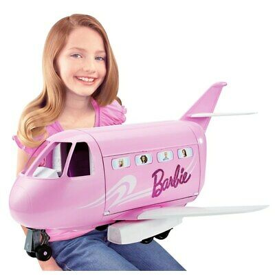 New Kids Barbie Pink Passport Glamour Jet Playset