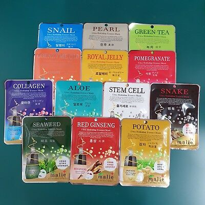 5 Random Set of Face Mask Skin Care Ultra Hydrating Essence Moisture mo3