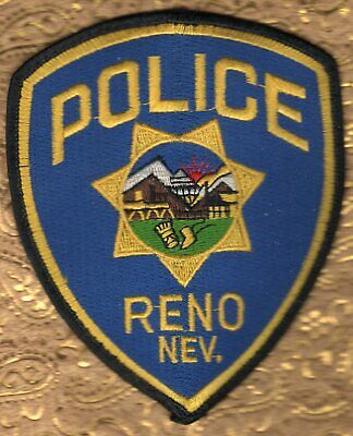 J23* DEPARTMENT OF PUBLIC SAFETY HP NEVADA STATE SHAPE POLICE FIRE MARSHAL PATCH