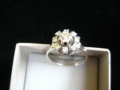 Diamantring Brillantring 585 Weissgold Goldring Diamant Brillant