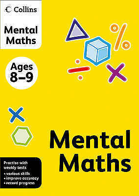 Collins Mental Maths (Collins Practice): Ages 8-9, Known, Not, Very Good Book