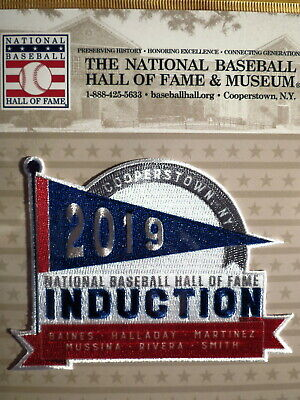 Hall of Fame Induction Patch 2019 Baines/Haladay/Martinez/Mussina/Rivera/Smith