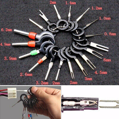 Car Wire Terminal Extractor Puller Pin Removal Tool Set Kit Universal Accessory