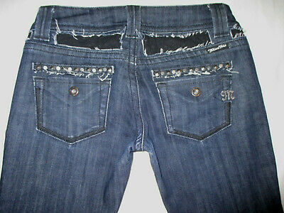 16bbfc9069ad TRUE RELIGION JEANS Hüftjeans Stretch Boot Dunkle Waschung W 25 L31 ...