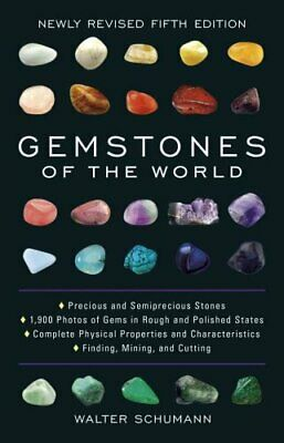 Gemstones of the World Newly Revised Fifth Edition 9781454909538   Brand New