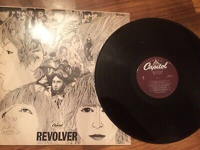 The Beatles - Revolver - Vinyl LP -Purple Capitol Label - SW 2576