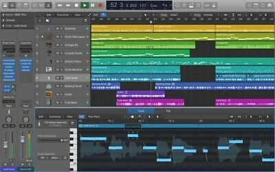Logic Pro X 10.4.5 – Professional songwriting, editing, and mixing