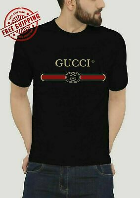 bba7e956a536 MEN'S GUCCI TEE Shirt Brand New 3 Color Selection with Tags Free ...