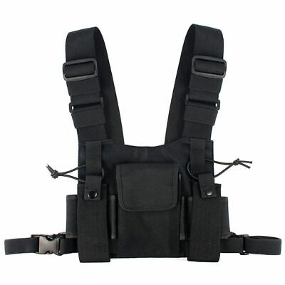 Le radio Pocket Radio Chest Harness cassa anteriore Confezione Pouch Holste J3R9