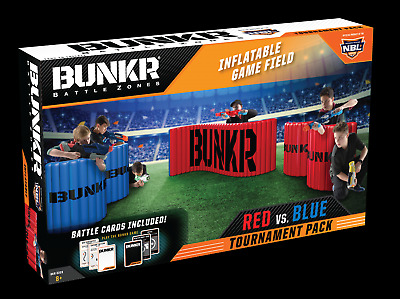 Inflatable Battlezone Nerf Laser X Tournament Battlefield Build Your Own BUNKR