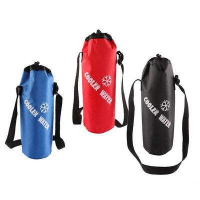 Ladies Girls Thermal Portable Insulated Cooler Bottle Carry Tote Storage KS